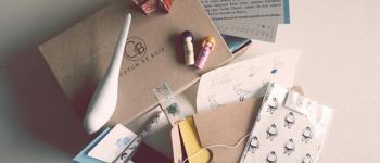 Zoé et les Box papeterie de Saperlipapier et Coton de bois!