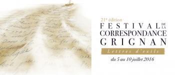 Festival de Grignan 2016, demandez le Programme!