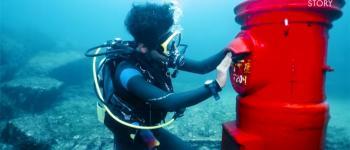 20000 lettres sous les mers, la boite aux lettres insolite du Japon