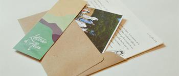 Lettres d'Alice : des reportages par la poste !