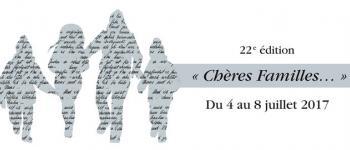 Festival de la Correspondance de Grignan: Présentation du calendrier 2017