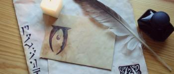 Le Papier à lettre style parchemin à faire soi-même